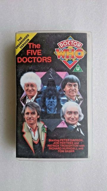 Doctor Who The Five Doctors  UNBRIDGED